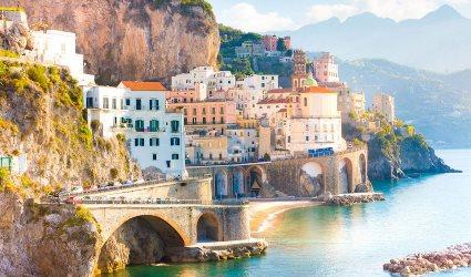 Trasferimento da Napoli a Amalfi con stop a Pompei